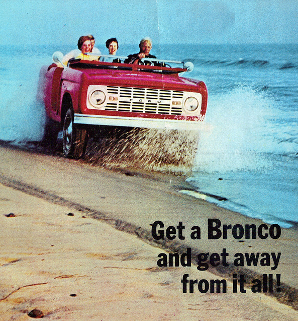 1969 Ford Bronco – The Mustang's Bucking Sidekick | Curbside Classic