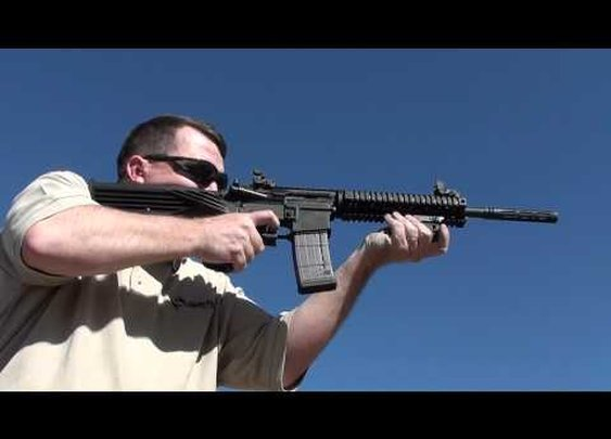 Slide Fire Solutions' SSAR-15 - Range Fun!!!