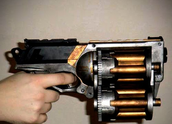 How To: Make an 18-Shot, Ratcheting Triple Barrel Nerf Gun