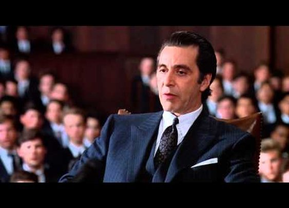 scent of a woman - frank slade's final speech      - YouTube