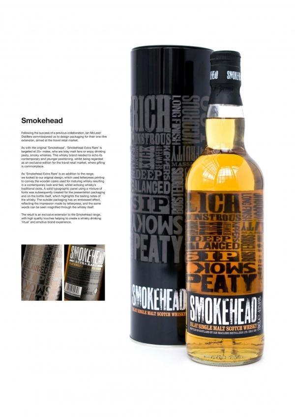 Smokehead Scotch Whisky