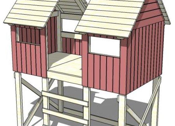 Ana White   Build a Beach Hut Bed