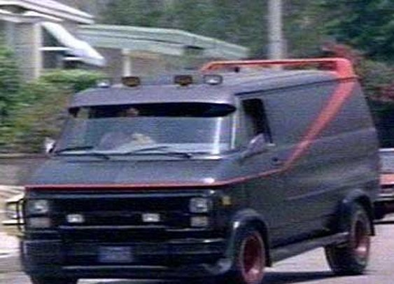 A-Team 1983 GMC G-Series (G-15) Van - Classic TV Cars