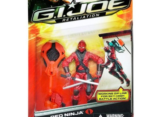 Red Ninja GI Joe Retaliation Action Figure