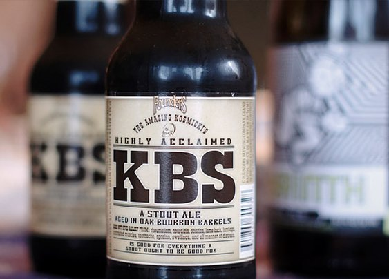 Kentucky Bourbon Stout (KBS)