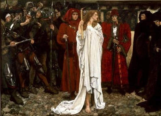 Edwin Austin Abbey: The Penance of Eleanor, Duchess of Gloucester