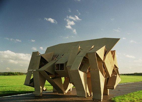 STRANDBEEST: Theo Jansen's Kinetic Sculptures