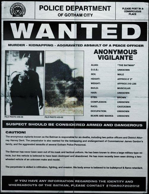 Gotham City's most wanted!