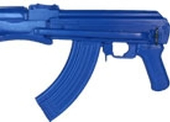 AK47 Folding Stock Blue Training Gun by Ring's Blueguns  - FSAK47FS