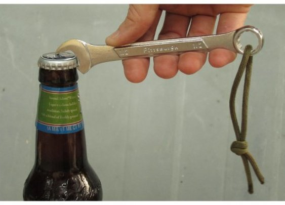 Beer Bottle Opener Wrench