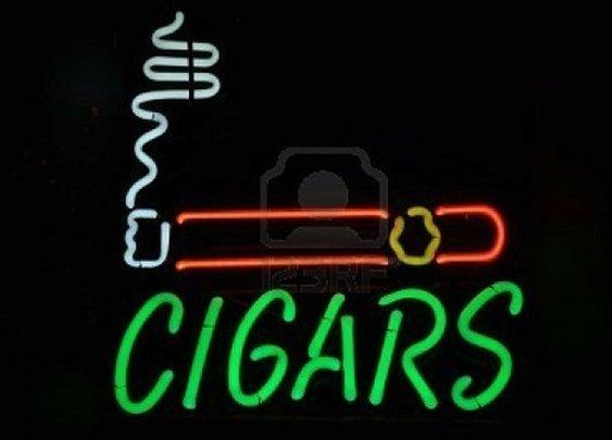 Neon lights / cigars