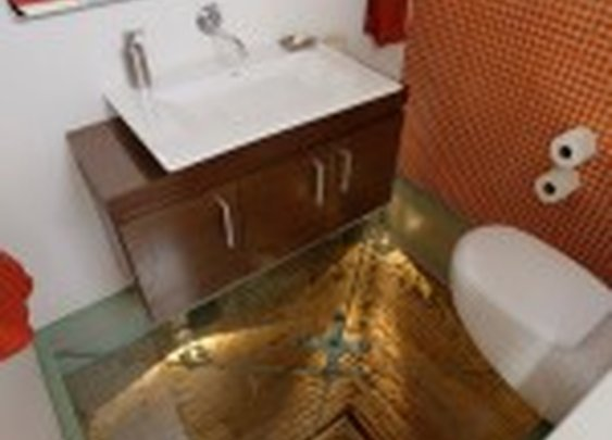 A Bathroom Situated Atop a 15-Story Elevator Shaft | Colossal