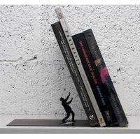 Falling Books Bookend by Art Ori