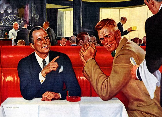 How to Host a Business Lunch | The Art of Manliness