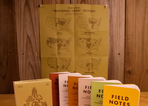 "Field Notes: ""National Crop"" Edition"