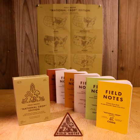 """Field Notes: """"National Crop"""" Edition"""