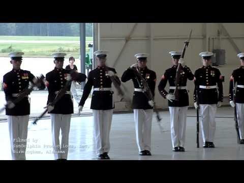 USMC Silent Drill Platoon      - YouTube