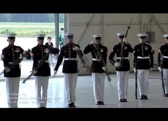 USMC Silent Drill Platoon      - YouTube