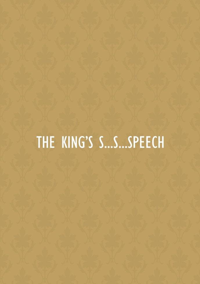 The King's Speech Minimalist Poster