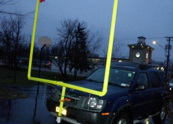 Front Bumper Field Goal Posts