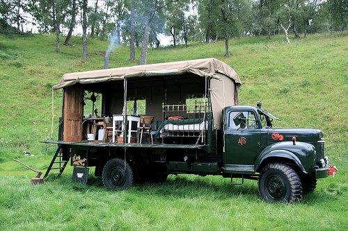Fire Truck Guest House