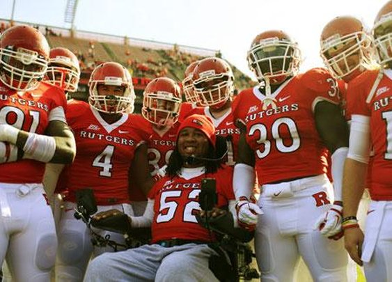 Tampa Bay Buccaneers sign injured Rutgers DT Eric LeGrand in symbolic gesture - ESPN