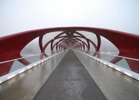 Peace Bridge: Santiago Calatrava «