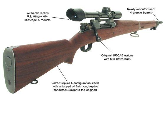 1903A4 - 84 Sniper Rifle