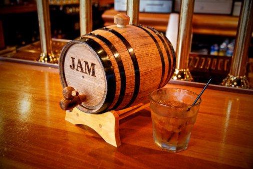 Engraved Mini Whiskey Barrel
