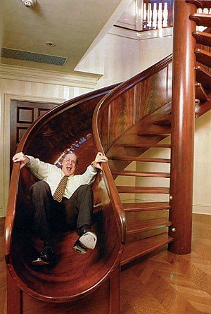Staircases and Doorways / awesome staircase, stairs, slide uploaded by ocicat