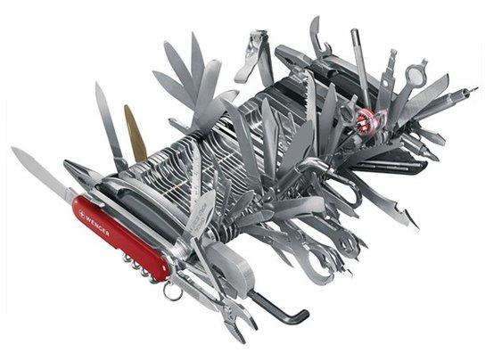 Men  Wenger 16999 Giant Swiss Army Knife