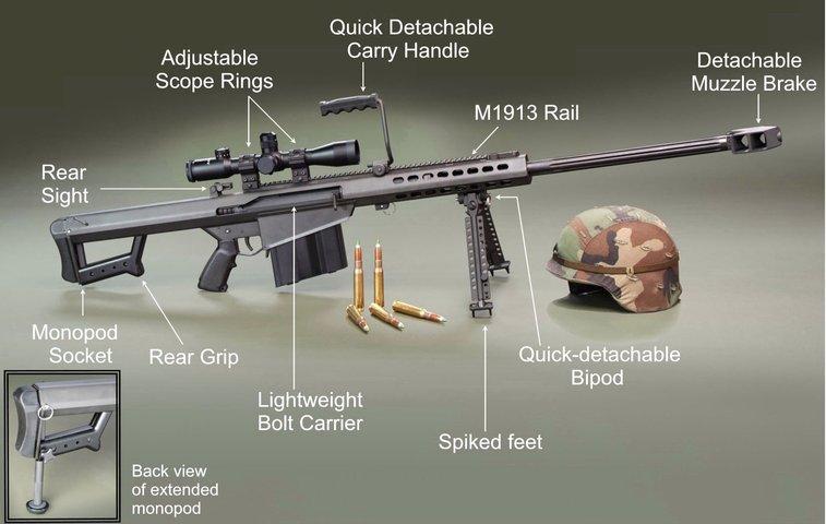 50 Cal sniper