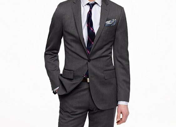 Ludlow two-button suit jacket with double-vented back in wool herringbone - Ludlow - Men - J.Crew
