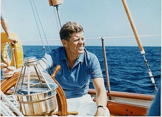 Timeless Champions of Khakis: JFK | Jack Donnelly Blog