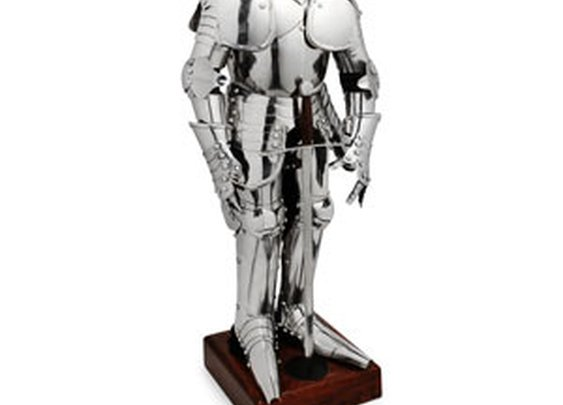 ThinkGeek :: Mini Steel Knight Armor