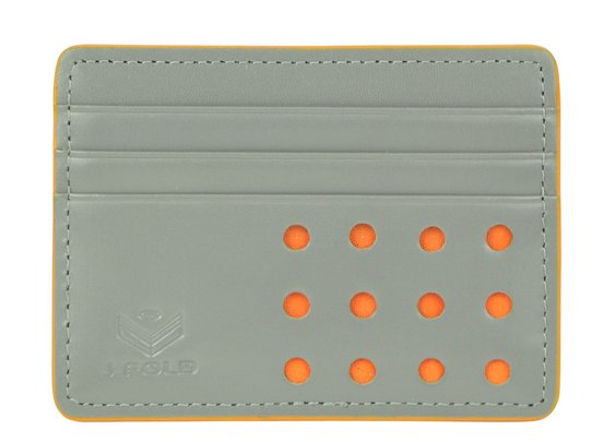 V-Twelve Flat Carrier Wallet - Gray