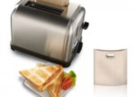 Toastabags, Reusable Sleeves to Make Pop-up Toaster Grilled Cheese Sandwiches