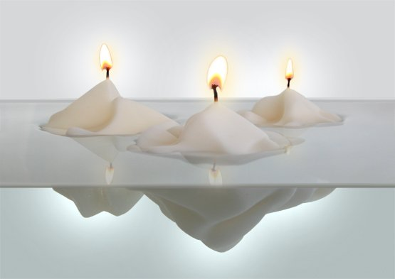 Glacier Candles | Mauricio Affonso