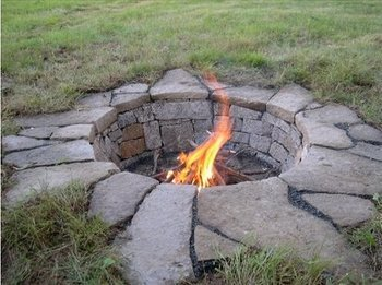 The Most Awesome Fire Pit Idea... Ever.