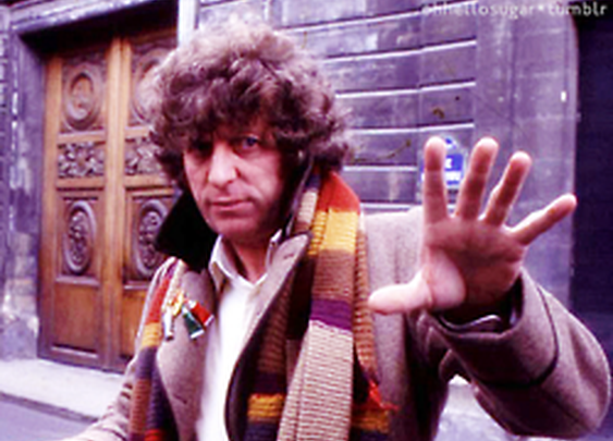 Doctor Who Official on Tumblr - May the fourth be with you The Fourth Doctor,...