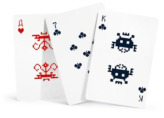 Pixel Playing Cards | Cool Quirks Gadgets and Gifts for Men