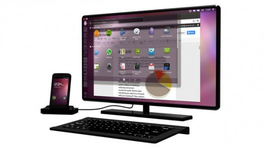 Ubuntu transforms dual core phones into fully functional desktop PC's