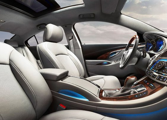 2012 Buick LaCrosse | Luxury Car Interior Photos | Buick