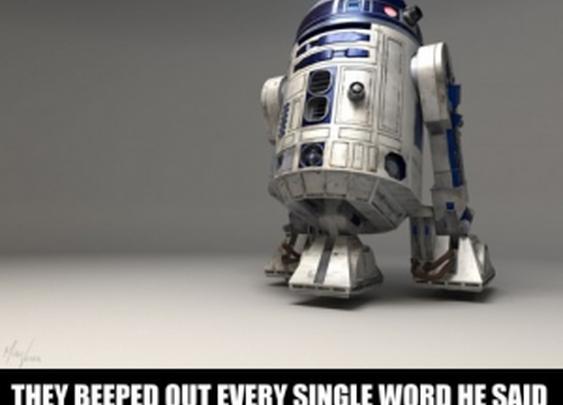 I feel so sorry for R2-D2