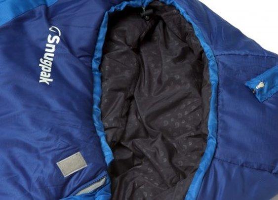 Snugpak sleeping bag features built-in LED light