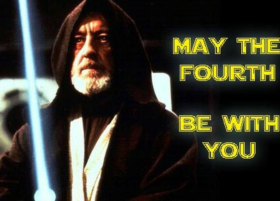 May th Fourth be with you