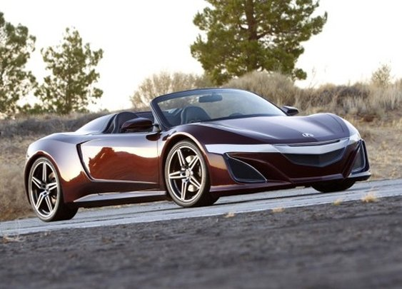 This is not a Drive By / Acura NSX Roadster (in The Avengers)