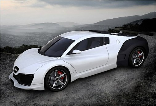 My cars / Audi RS 7 Concept car. Please dont be electric!