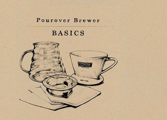 How to use a Pourover Coffee Brewer - Pourover Basics on Vimeo