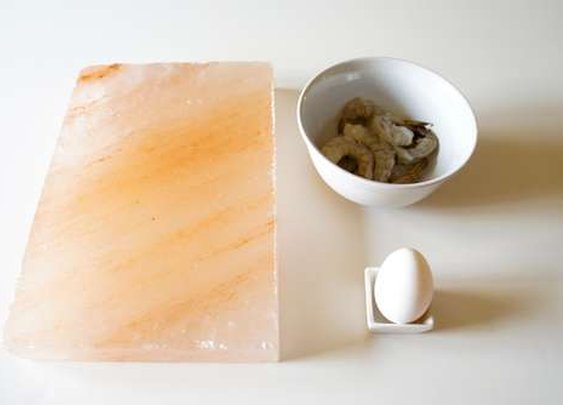 Cooking with an Ancient Himalayan Salt Block